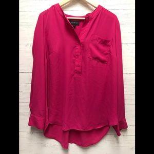 Lane Bryant wear to work dressy pink top 10/12